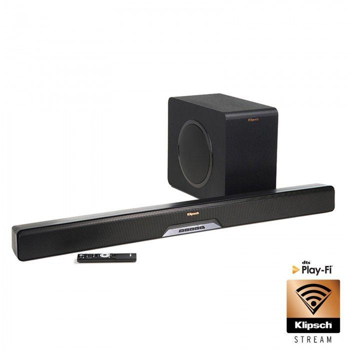 "Soundbar+Subwoofer wireless ativo 8"" Black"